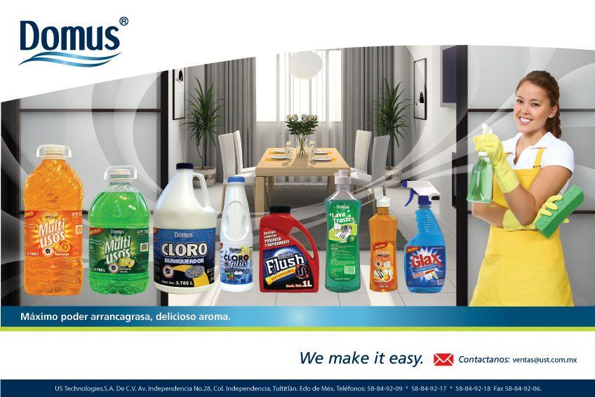 Etiquetas Para Lineas De Productos De Limpieza Easy Limpieza