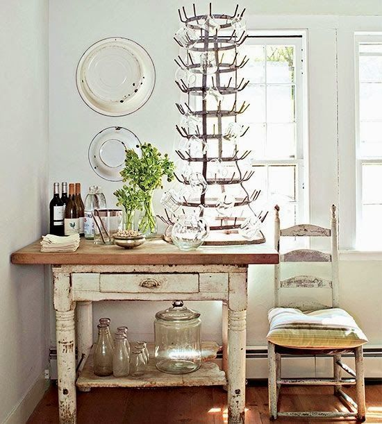 Vintage French Drying Rack