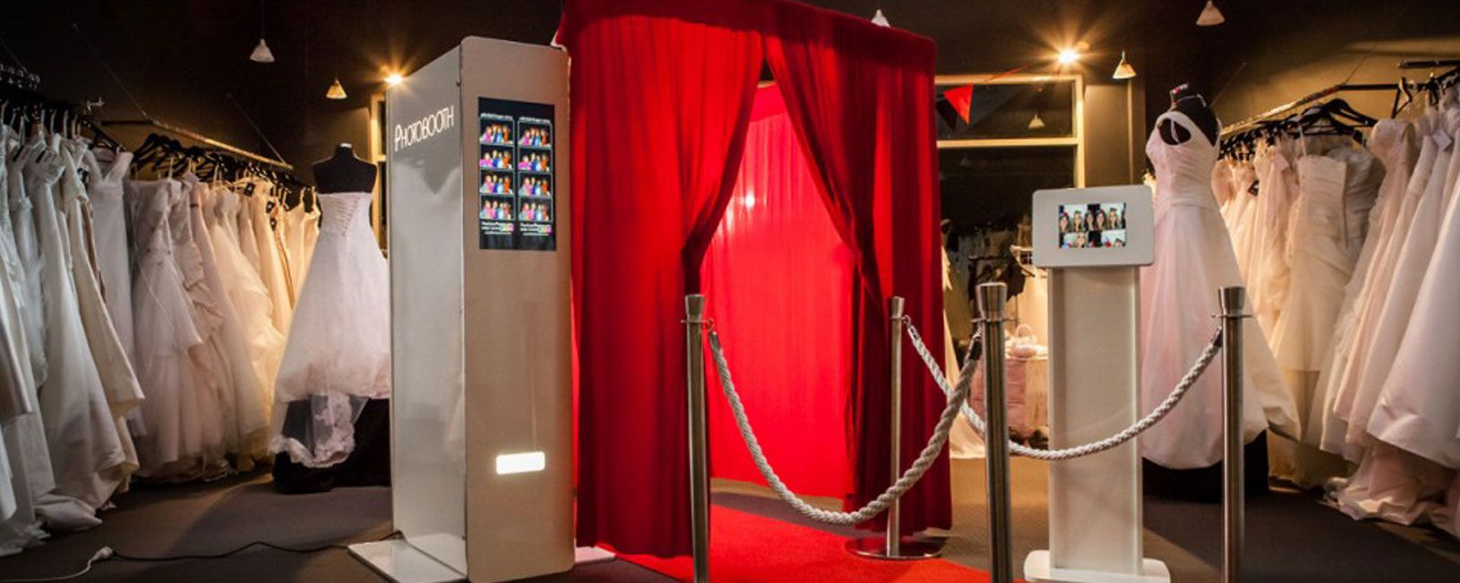 Elegant Photo booth hire