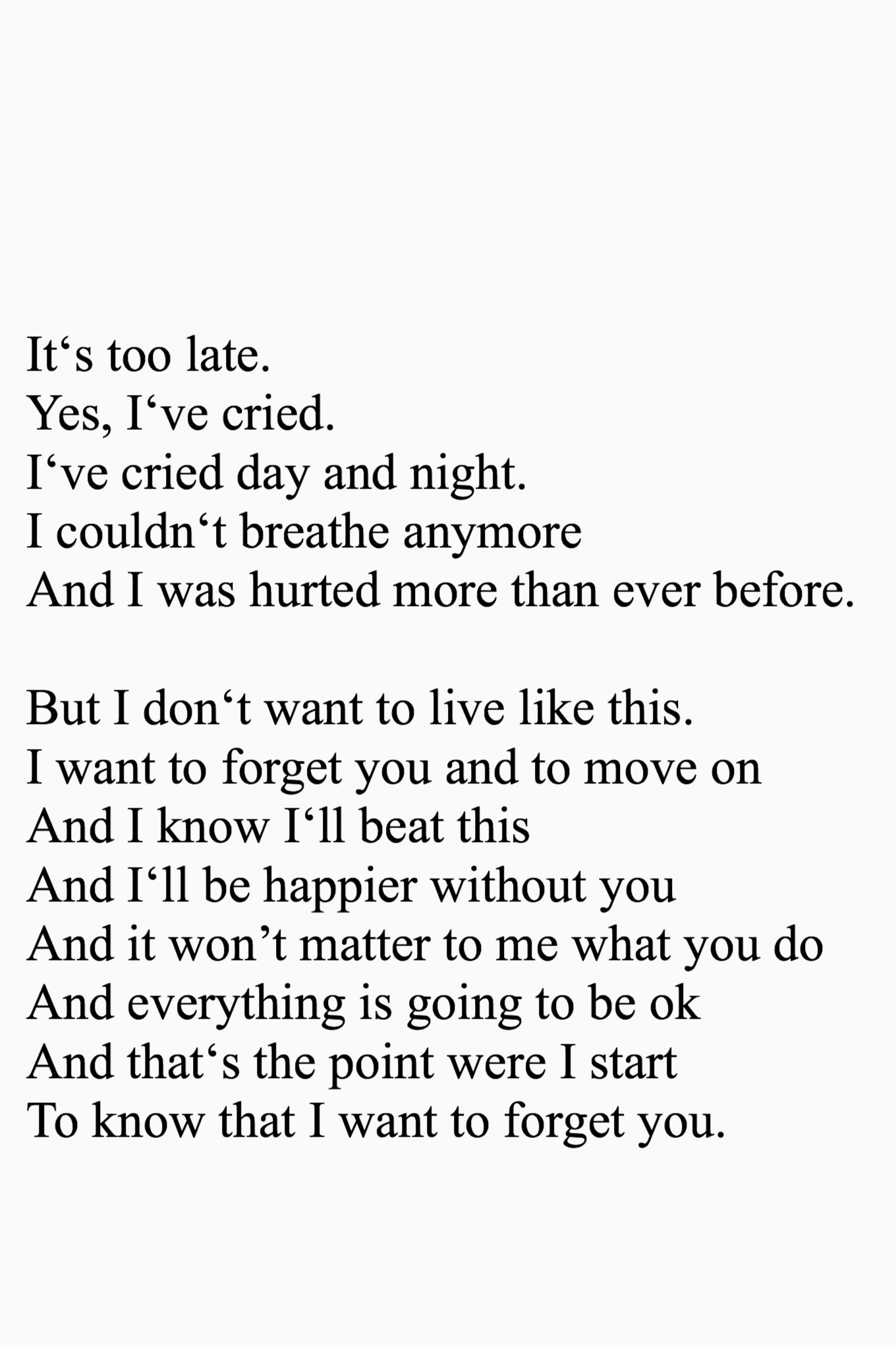 Maybe Its Time For Me To Let Go Quotes Quotes Sad Quotes