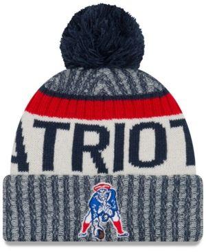 6864a3c5e3ee4 New Era Boys  New England Patriots Sport Knit - Navy Red Adjustable ...