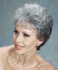 Image Result For Short Curly Hairstyles For Grey Hair Grey Hair Inspiration Short Hair Older Women Short Permed Hair