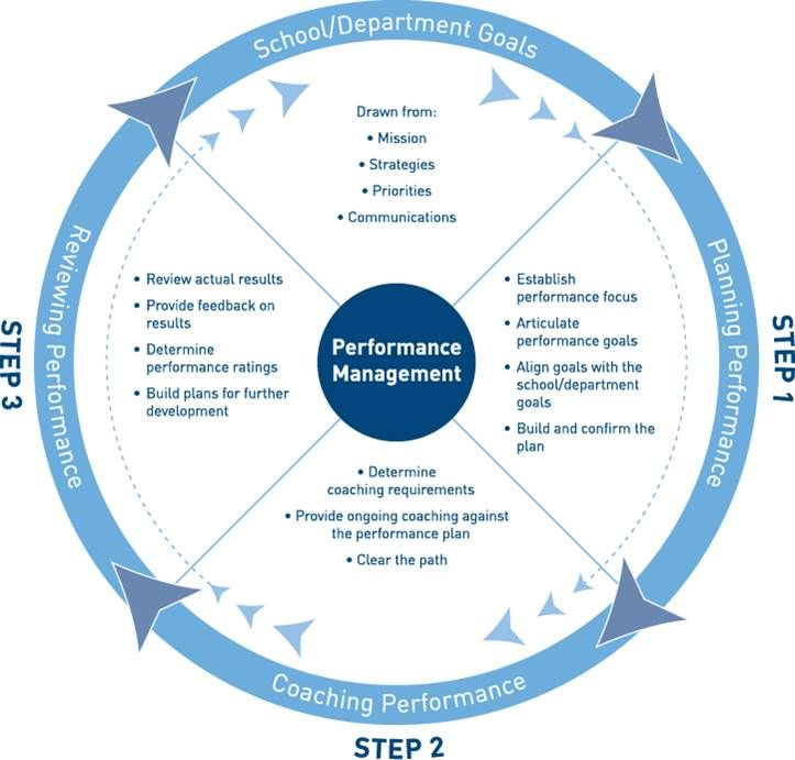 The performance management cycle There is much more to - evaluating employee performance