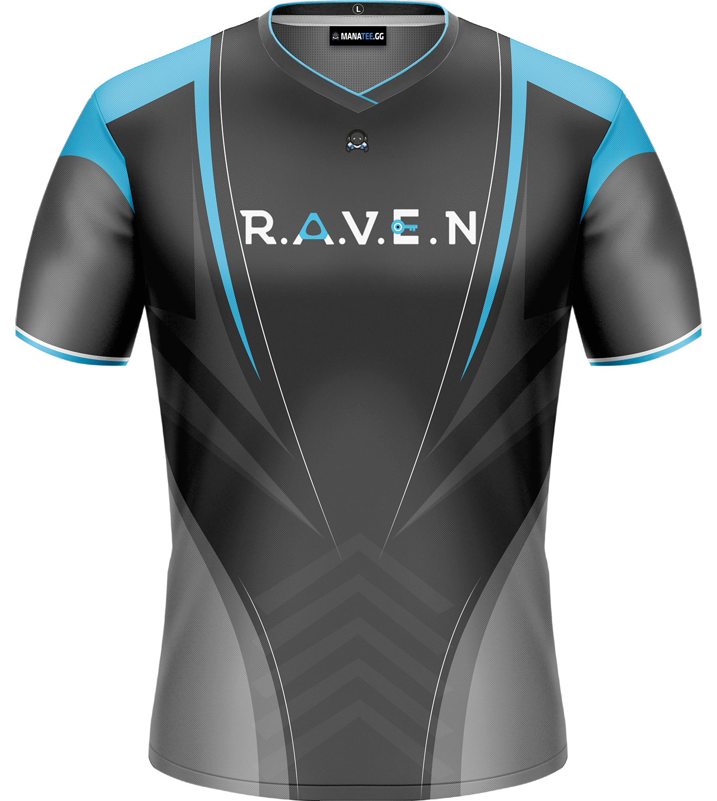 8f51db04 Raven Gaming Jersey concept on Behance | Sublimation | Sublime shirt ...