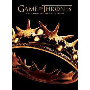 Game Of Thrones The Complete Second Season Dvd Walmart Com Hbo Original Series Blu Ray Movies Seasons