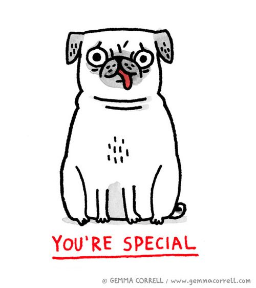 Love Gemma Correll Pugs And Kisses Cute Funny Dogs Pug