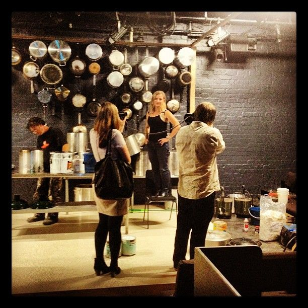The final week of rehearsals for Food at Belvoir. http://www.belvoir.com.au/food