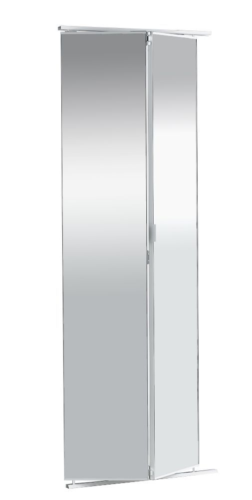 Veranda 36 Inch Frameless Mirrored Bifold Door The Home Depot Canada Mirror Closet Doors Bifold Doors Doors Interior