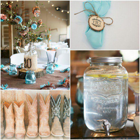 Georgia Southern Chic Farm Wedding