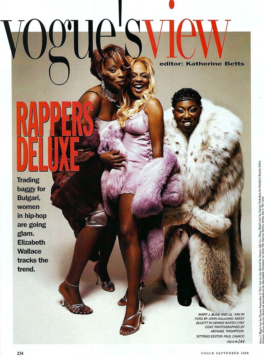 lilkimseason: Lil' Kim, Mary J. Blige & Missy... - M I L K ...