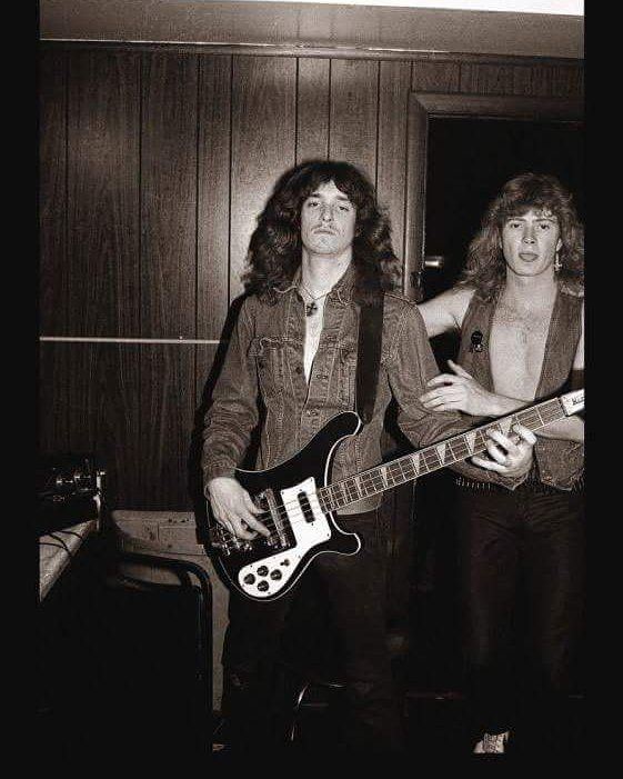 cliff burton r i p and dave mustaine http heavymetaltshirts