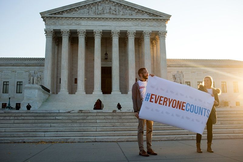 Justices weigh meaning of one person one vote