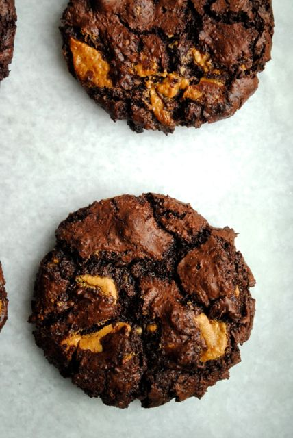 Double chocolat chip cookies