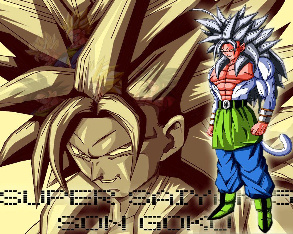 DRAGON BALL Z WALLPAPERS Goku Super Saiyan 5