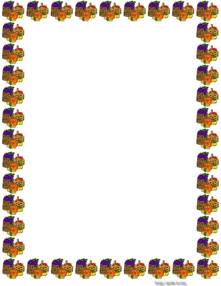 graphic relating to Free Printable Thanksgiving Borders identify Thanksgiving Borders Thanksgiving Border Paper imaginative