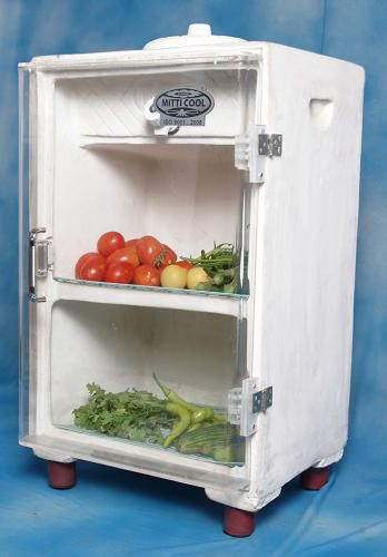 Clay Fridges That Keep Food Cool Without Electricity Food