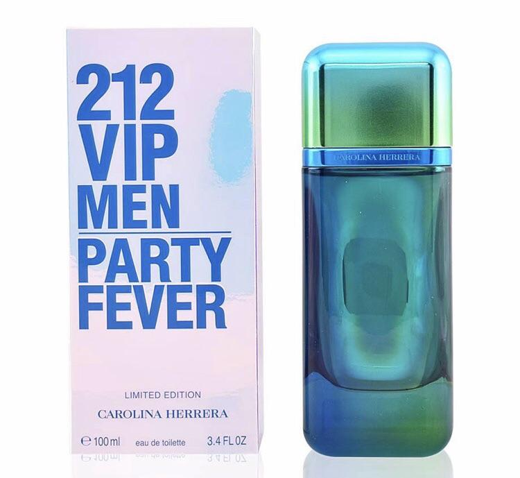 58db6b25af CAROLINA HERRERA 212 VIP Men Party Fever 3.4 oz EDT For Men in 2019 ...