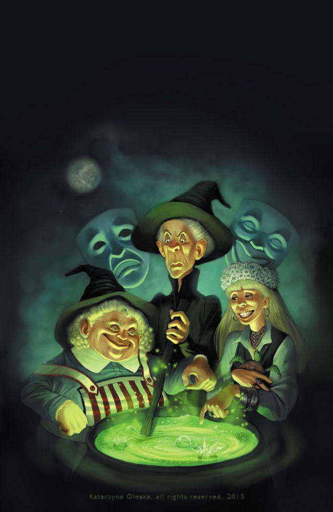 Weird Sisters Terry Pratchett 8