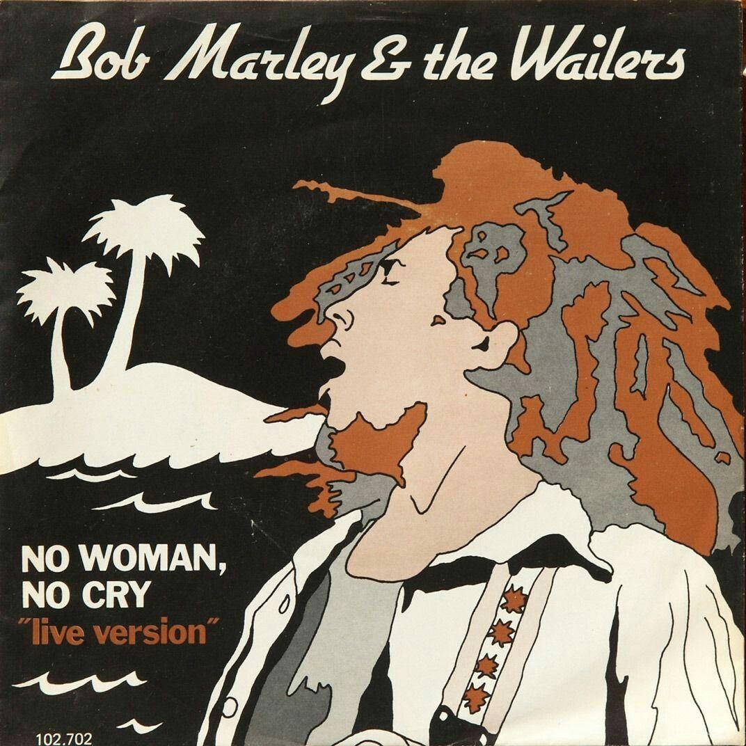 Bob Marley No Woman No Cry Nesta Marley Vinyl Artwork The Wailers
