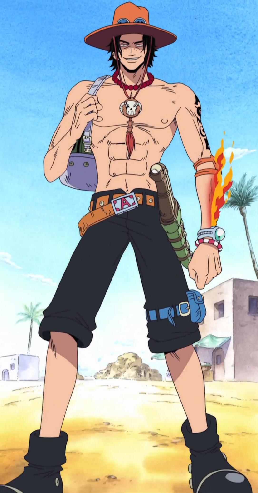 Portgas D Ace Manga Anime One Piece One Piece Ace One Piece Manga