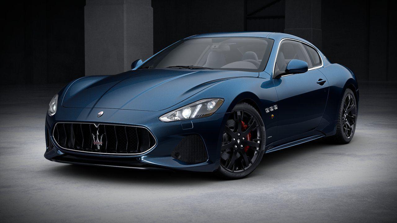 Maserati Granturismo Blu Oluto