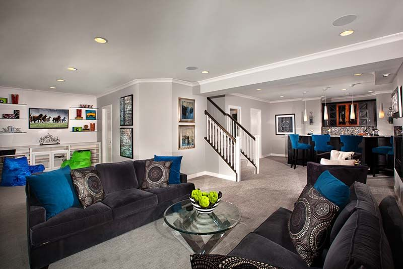 Basement Remodeling Baltimore Model Interior Picture 2018