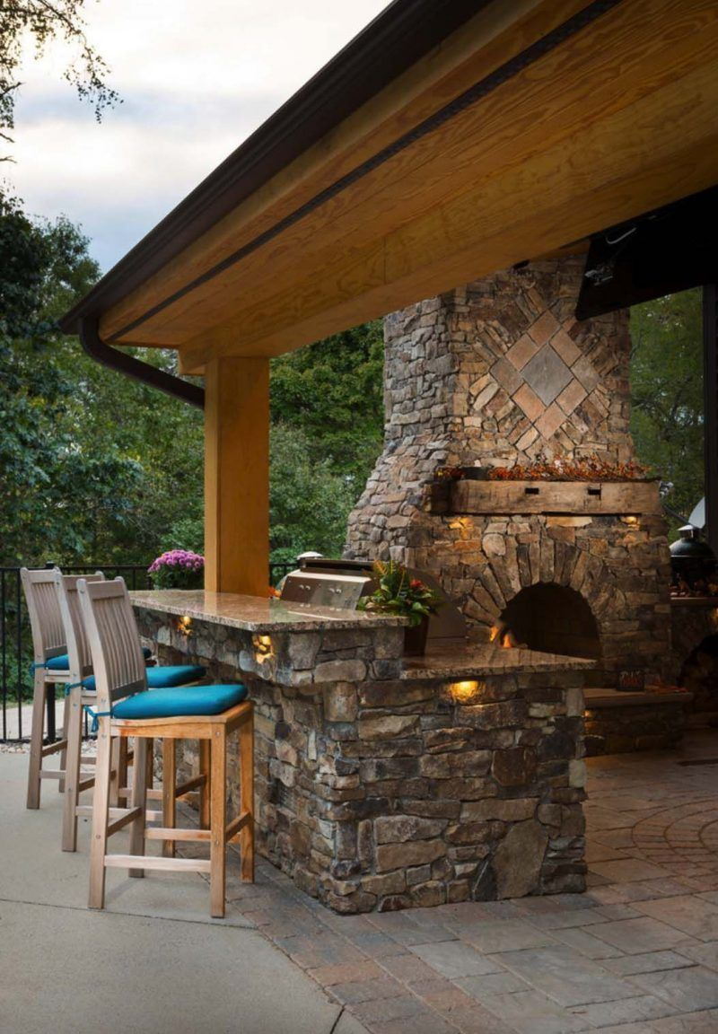 Bar Exterieur En Pierre 31 entertainment outdoor kitchen bar ideas for family