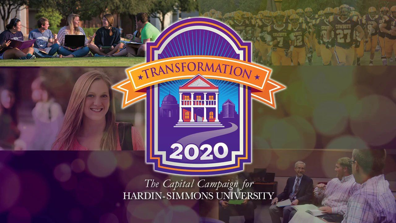 HardinSimmons Transformation 2020 I can't wait until