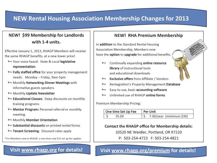 The Rental Housing Association Of Greater Portland Rhagp Docs