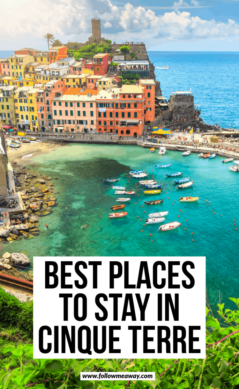 what is the best town to stay in cinque terre
