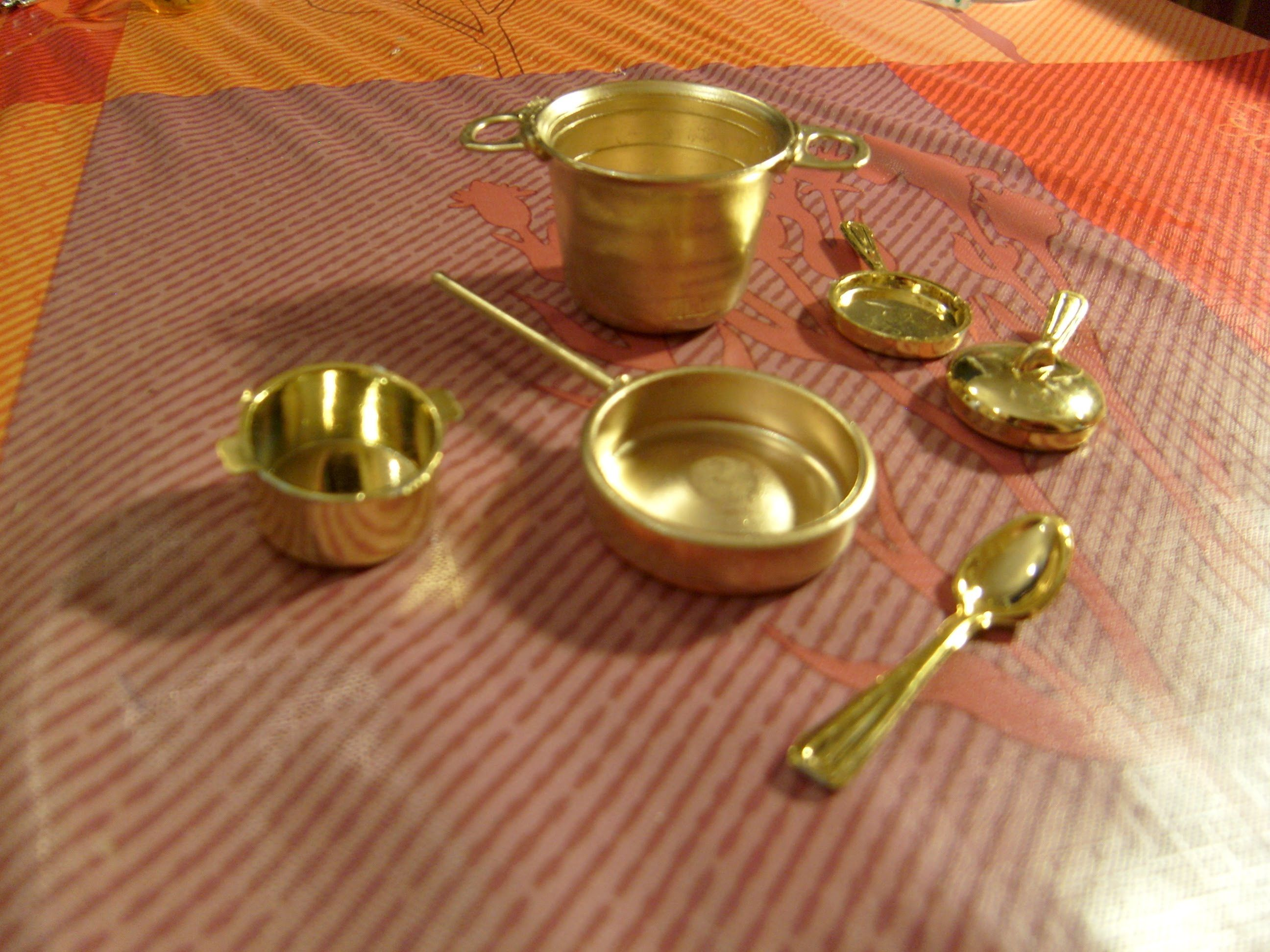 Miniatura diy sart n para tu cocina de casa de mu ecas - Manualidades para tu casa ...