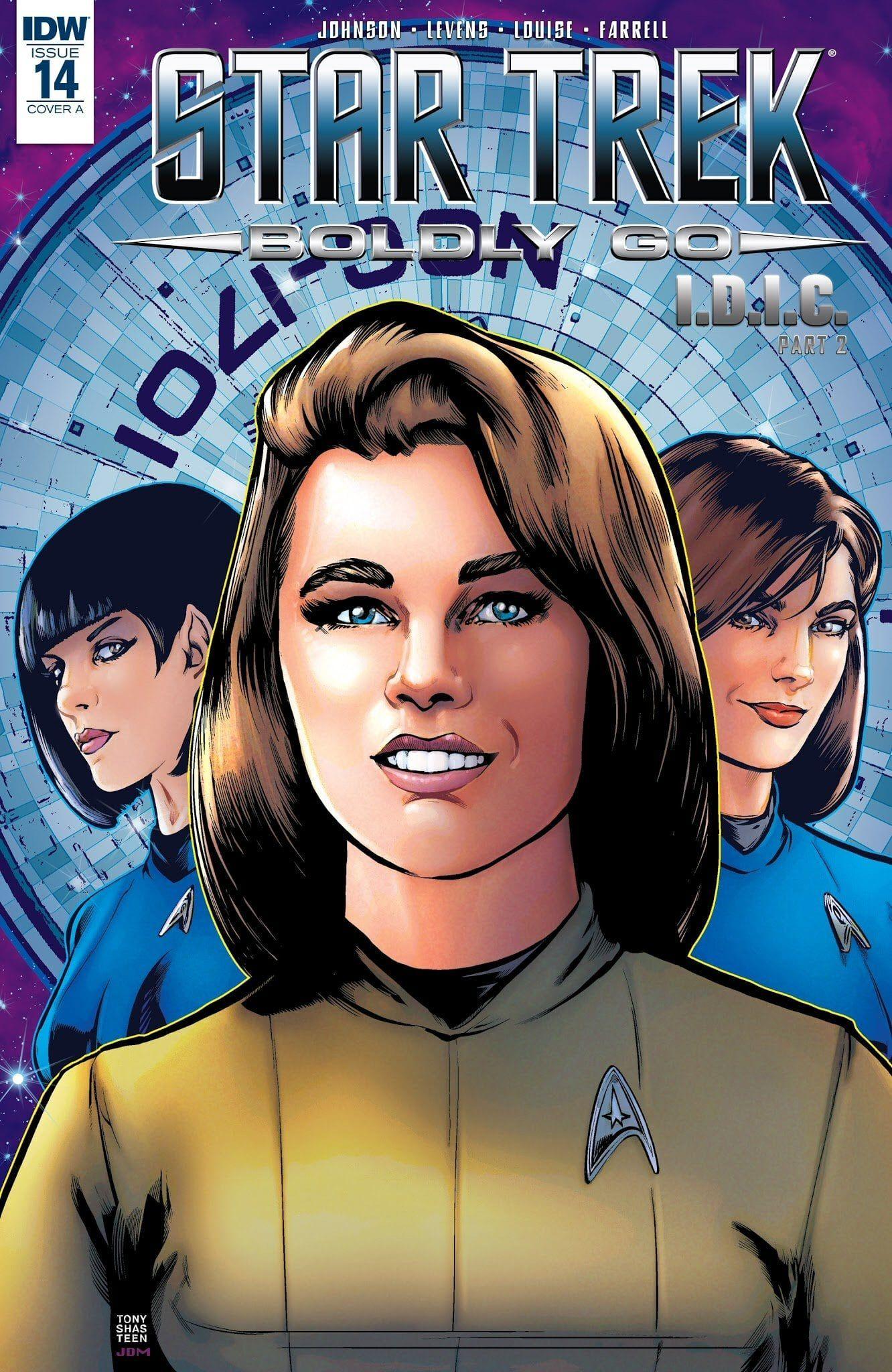 Star Trek: Boldly Go #14 | Comic books | Star Trek, Mirror