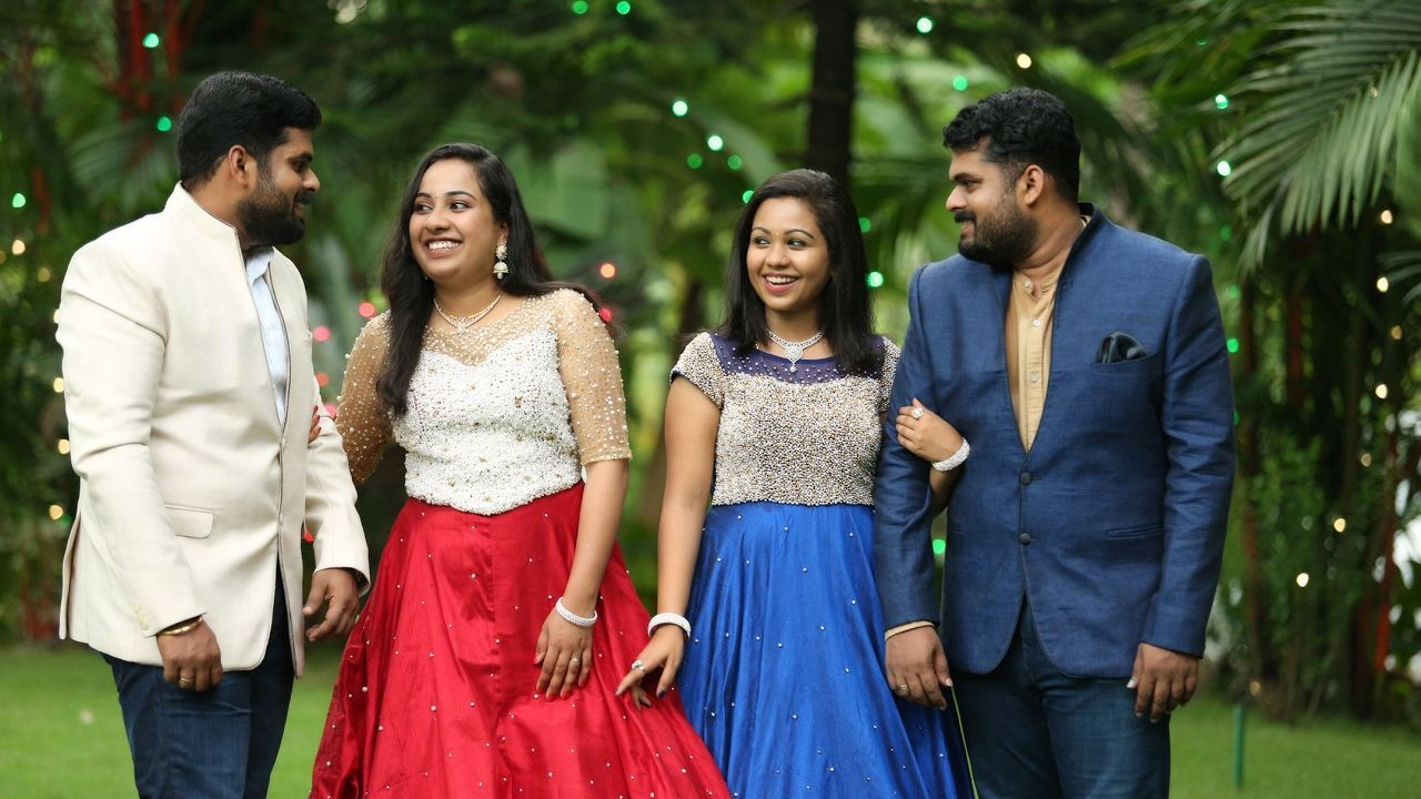 Nithin aswathy nikhil vidya wedding movie a beautiful kerala twins