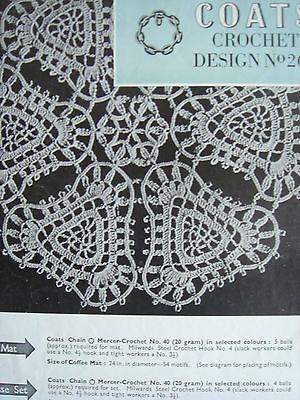 Vintage Flower Motif Crochet Pattern Coats274 Crochet Flower