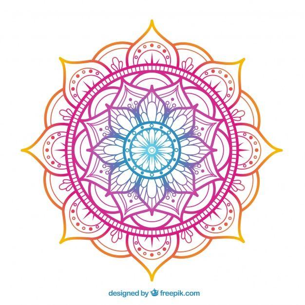 Pink Gradient Lotus Flower Men/'s Tee Image by Shutterstock