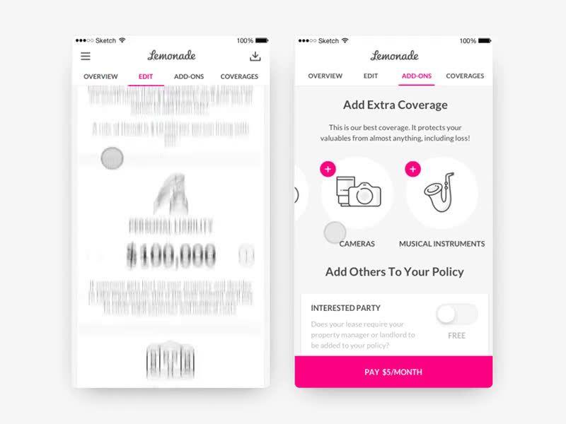 Lemonade revolutionary peer to peer insurance app app