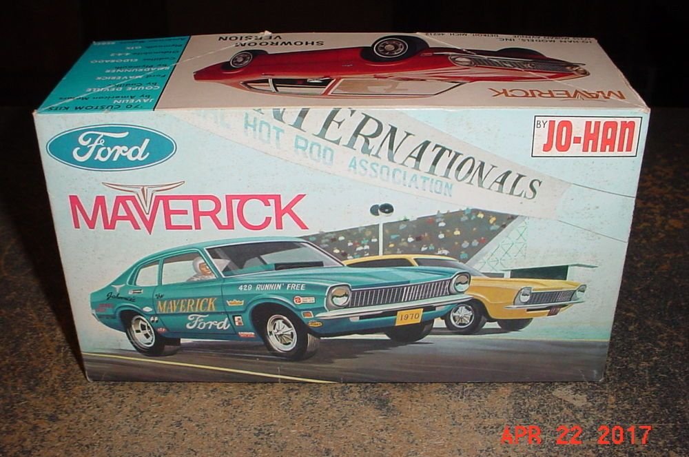 Jo Han 1970 Ford Maverick C 1370 1 25th Scale Model Kit Johan