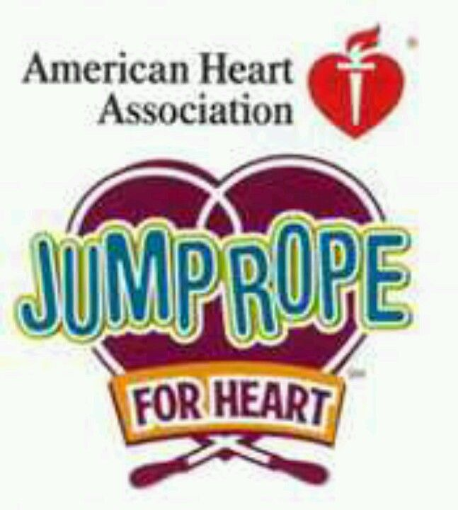 Jump Rope For Heart Logo I Ve Been Working With Schools