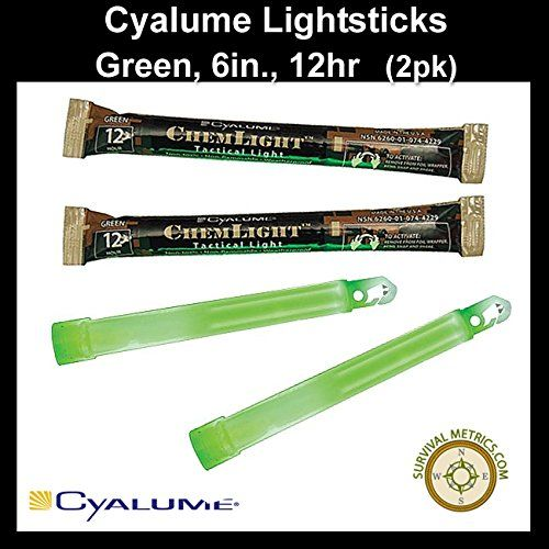 Emergency Light Sticks Cyalume Chemlight Lightsticks Green 6 12 Hr 2pk Check This Awesome Product By Going To The Link At The Image