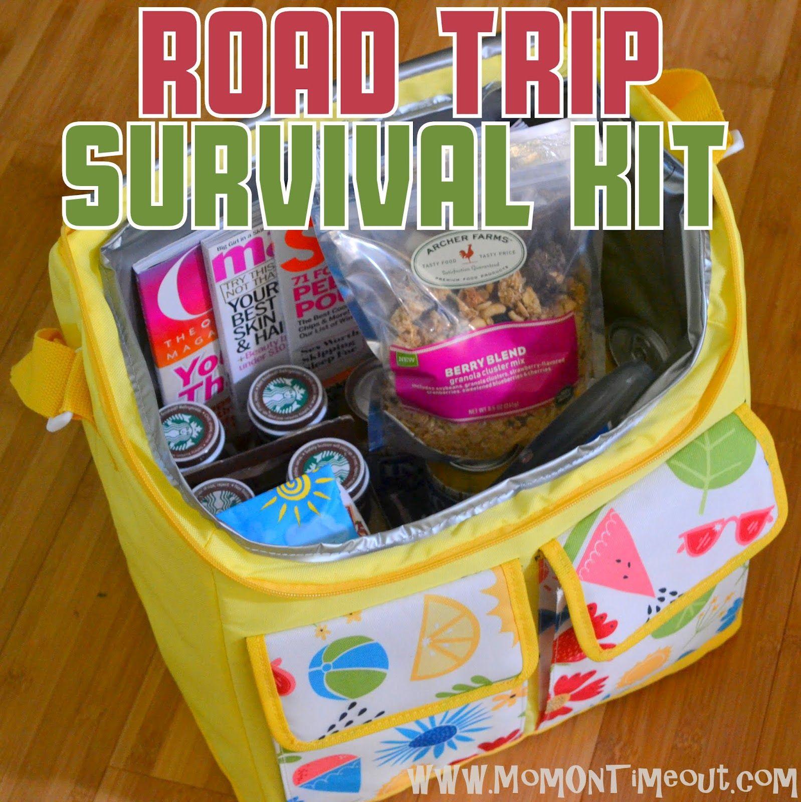 Road Trip Survival Kit - Gift Idea - Mom On Timeout   Baseball M ...