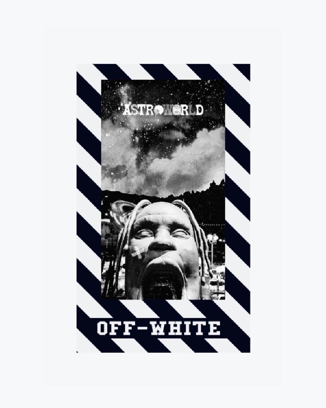 First Wallpaper Wallpaper Wallpapers Travisscott Offwhite Astroworld Astroworldtour Cool Art Blackandwhite Backg In 2020 Background S Wallpaper Wallpaper S
