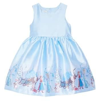0c14f2b46251 Pippa & Julie x Disney(R) Frozen Border Print Dress & Jacket Set ...