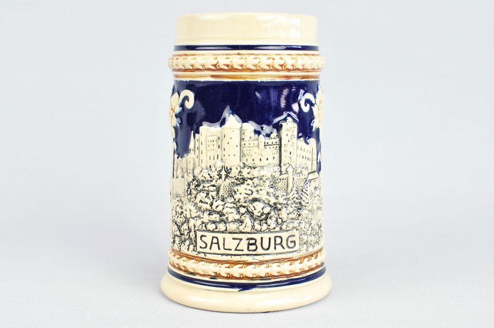 WEKARA HUMPEN SALZBURG BIERKRUG KERAMIK STEINGUT ALTER ...