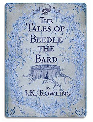 Tales of Beedle the Bard - Metal Wall Sign Plaque - Harry Potter Inspired Wall Art