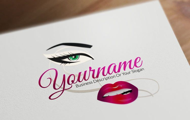 Design Free Fashion Logos And Beauty Logo Designs Beauty Logo Design Makeup Logo Beauty Logo