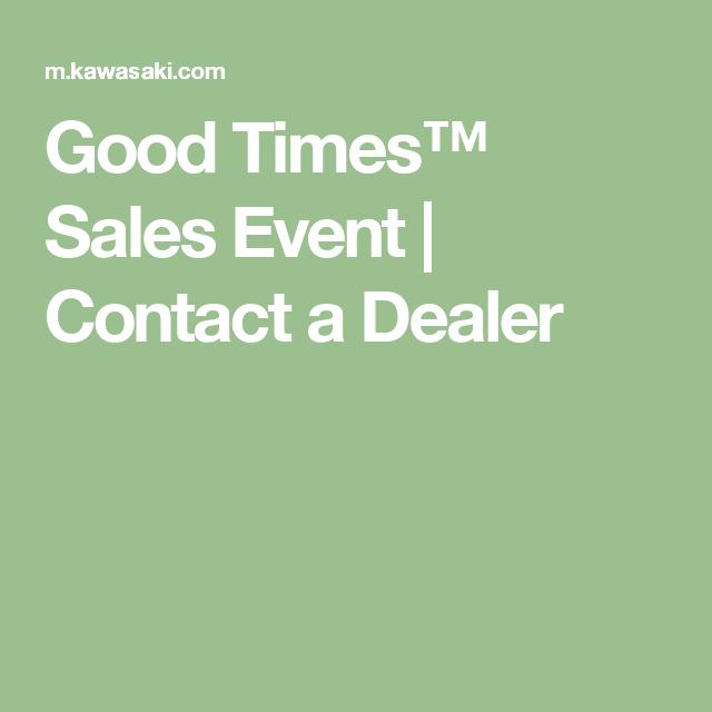 Good Times™ Sales Event | Contact a Dealer | Breakfast | Pinterest
