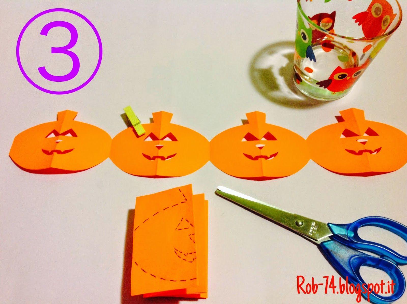 Colori idee e creatività: Festoni per Halloween