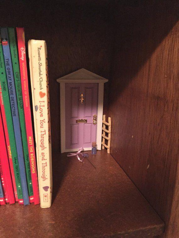 Fairy Door, Tooth Fairy Door, Magical Fairy Door, Fairy Garden, Lavender, Fairy Door Kit, Ann Arbor Door #toothfairyideas