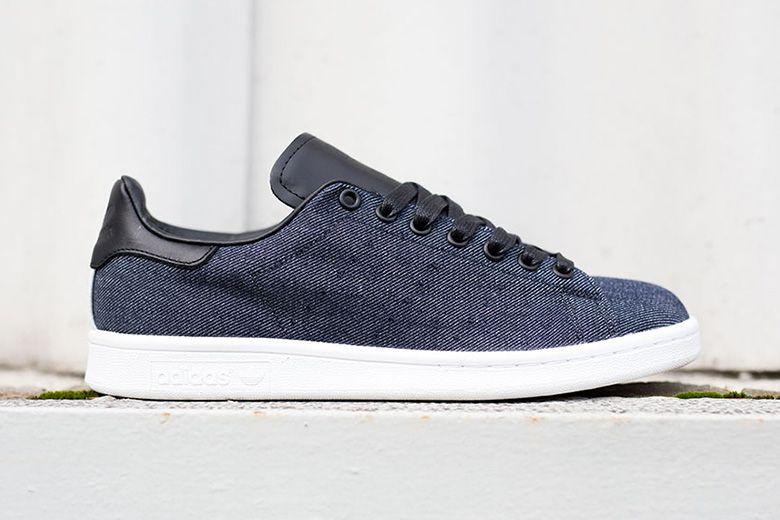 adidas stan smith blue leather
