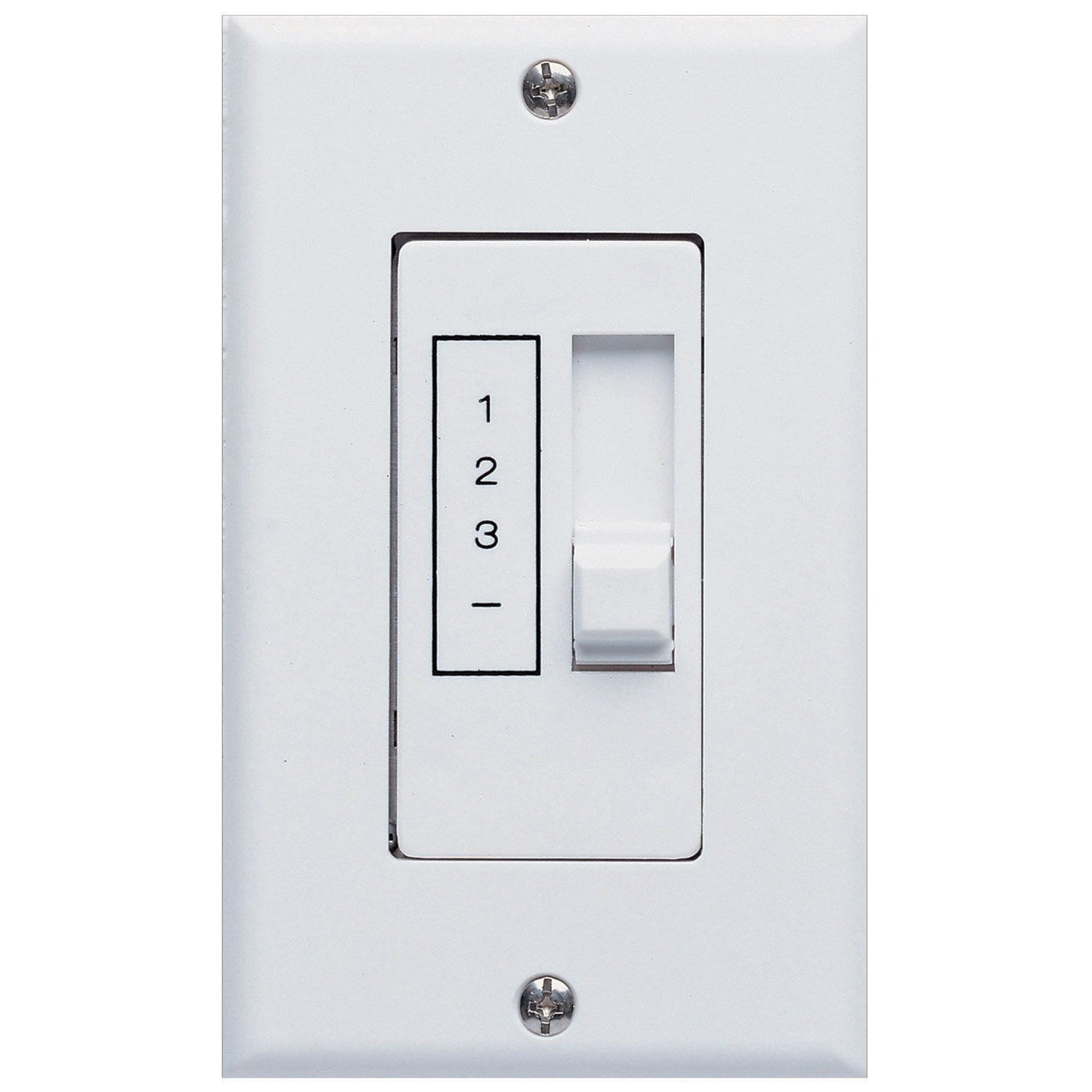Concord fans speed ceiling fan slider white wall control switch
